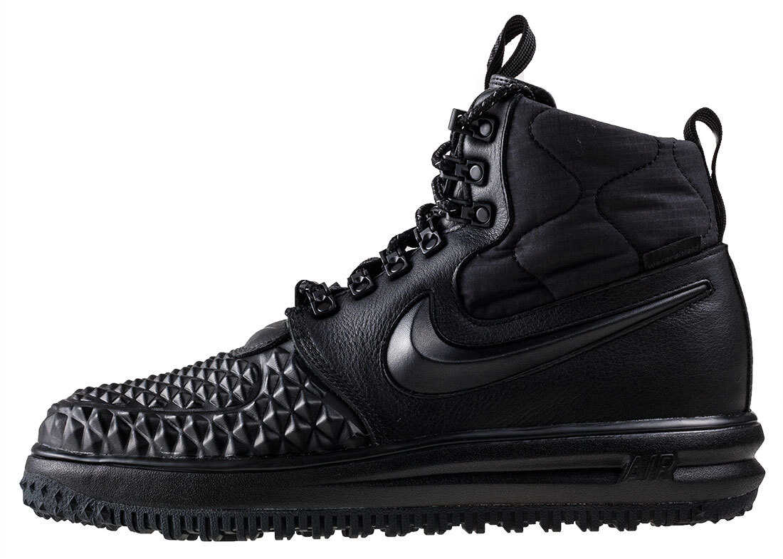 Nike Lunar Force 1 Duckboot 17 Boots In Black Black* Black