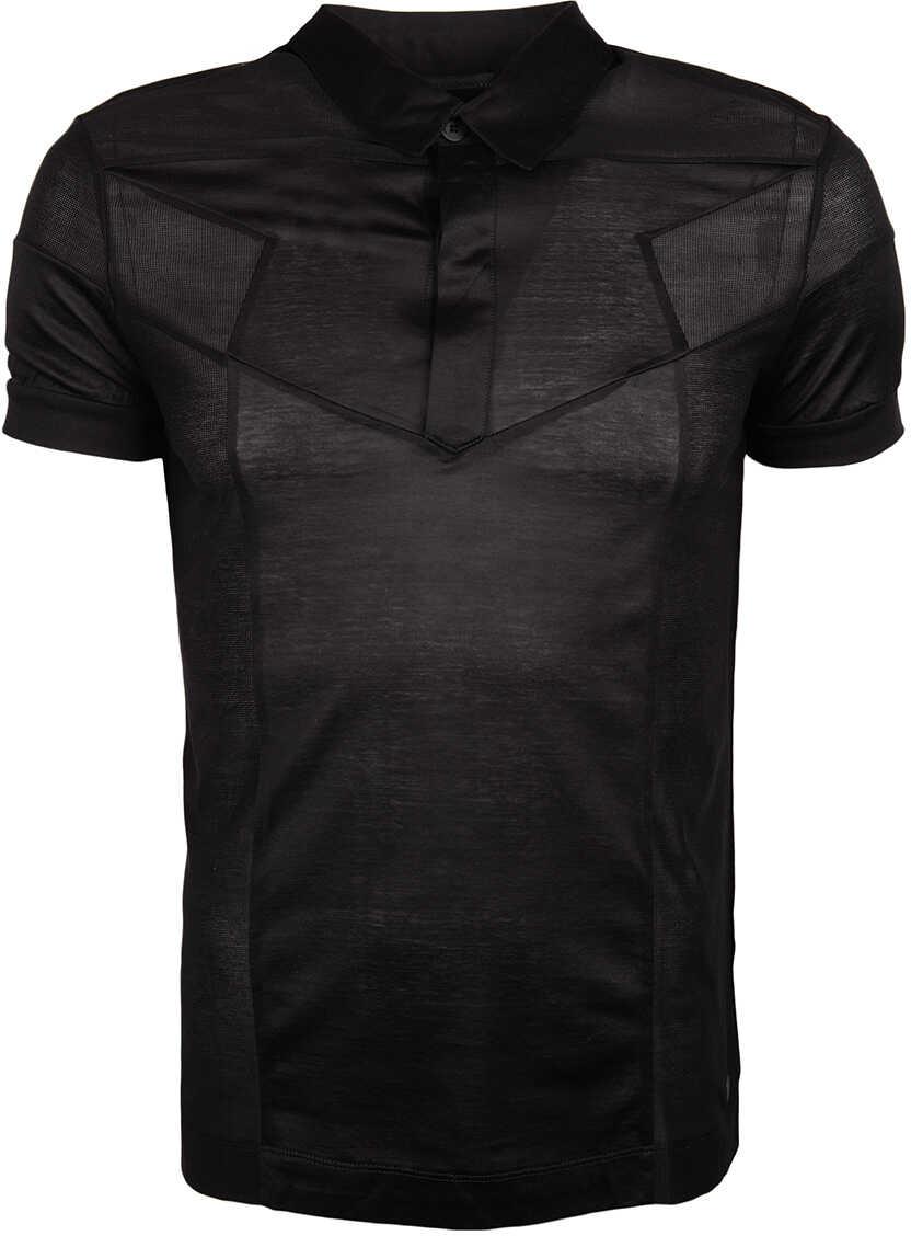 Karl Lagerfeld Koszulka Polo Czarny