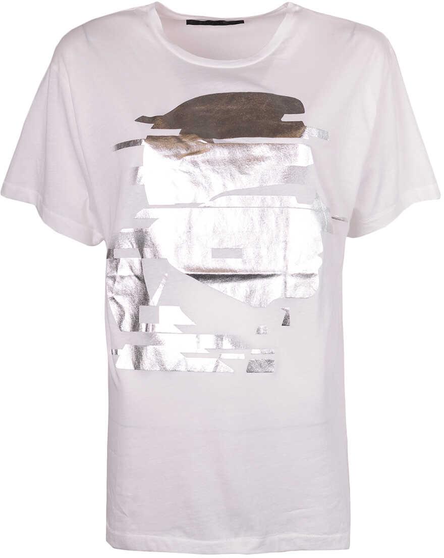 Karl Lagerfeld T-shirt Biały
