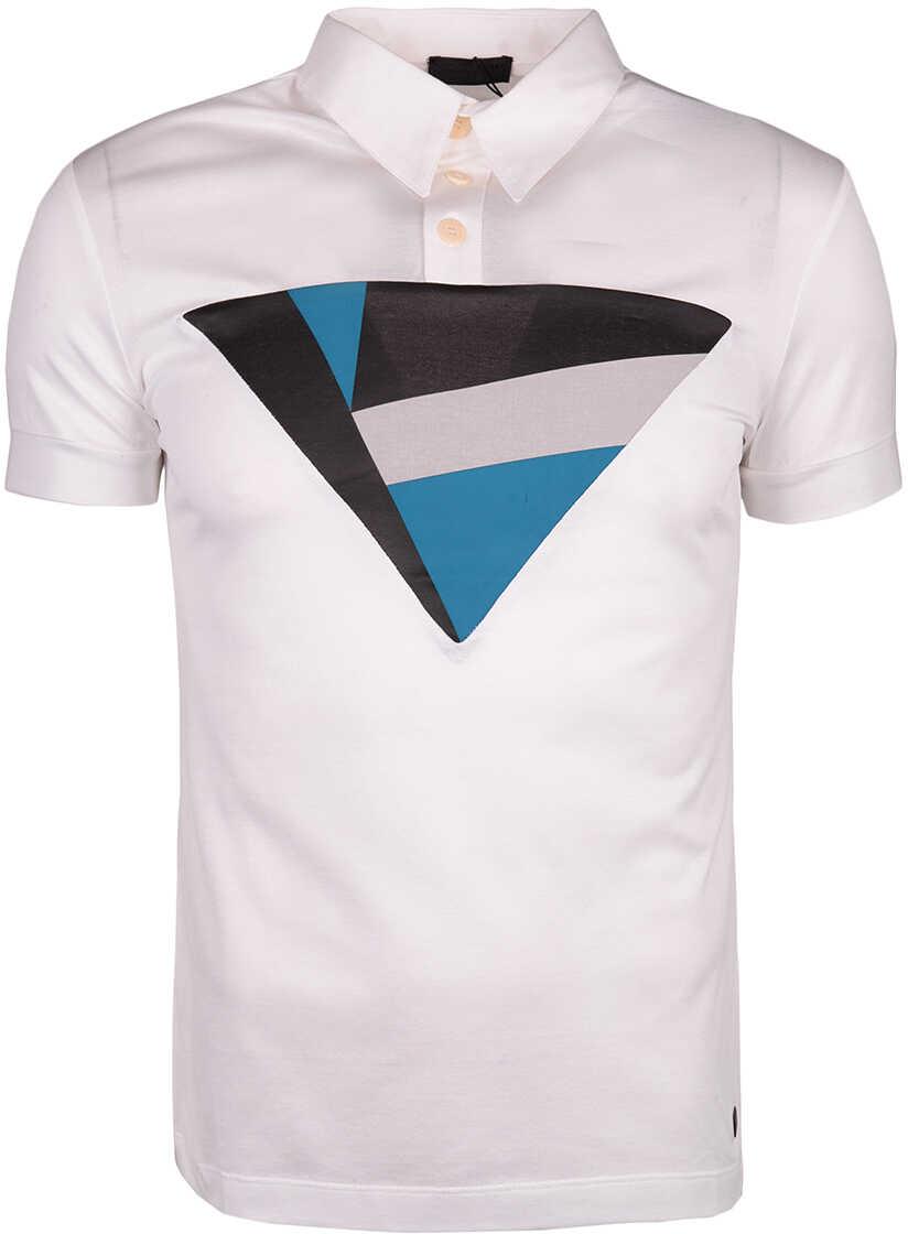 Karl Lagerfeld Koszulka Polo Biały