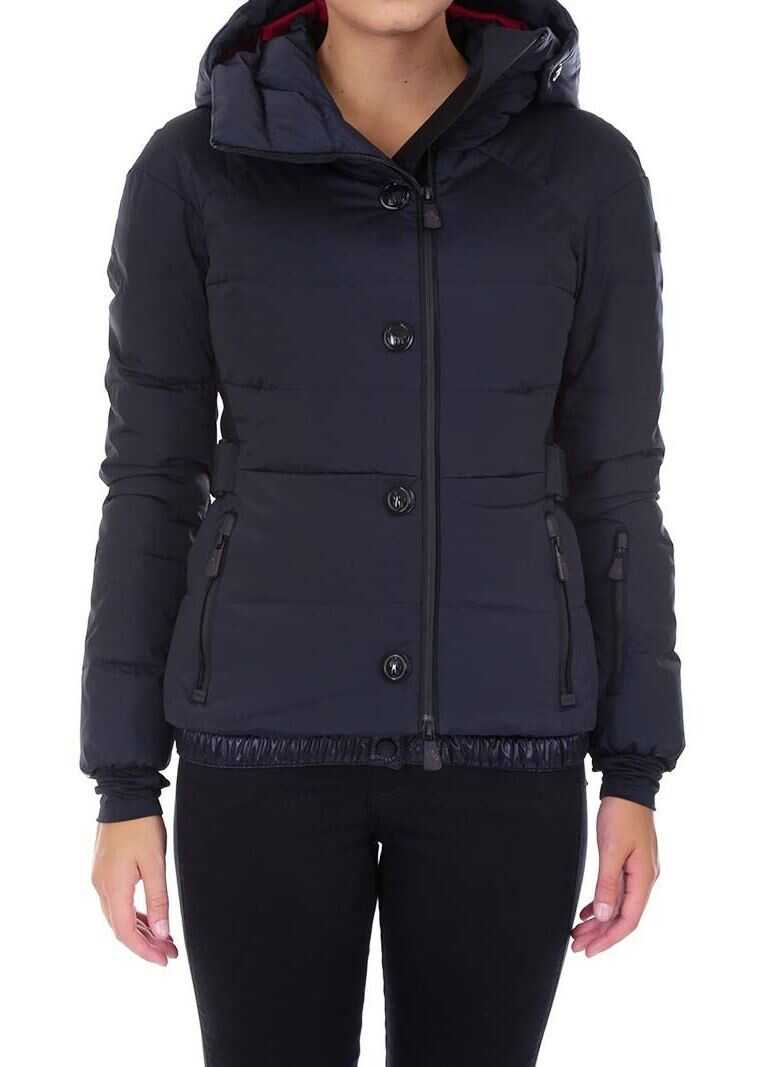prima vedere cumpărare ieftin preț redus Geci de Puf Moncler Guyan Down Jacket Blue Femei - Boutique Mall ...