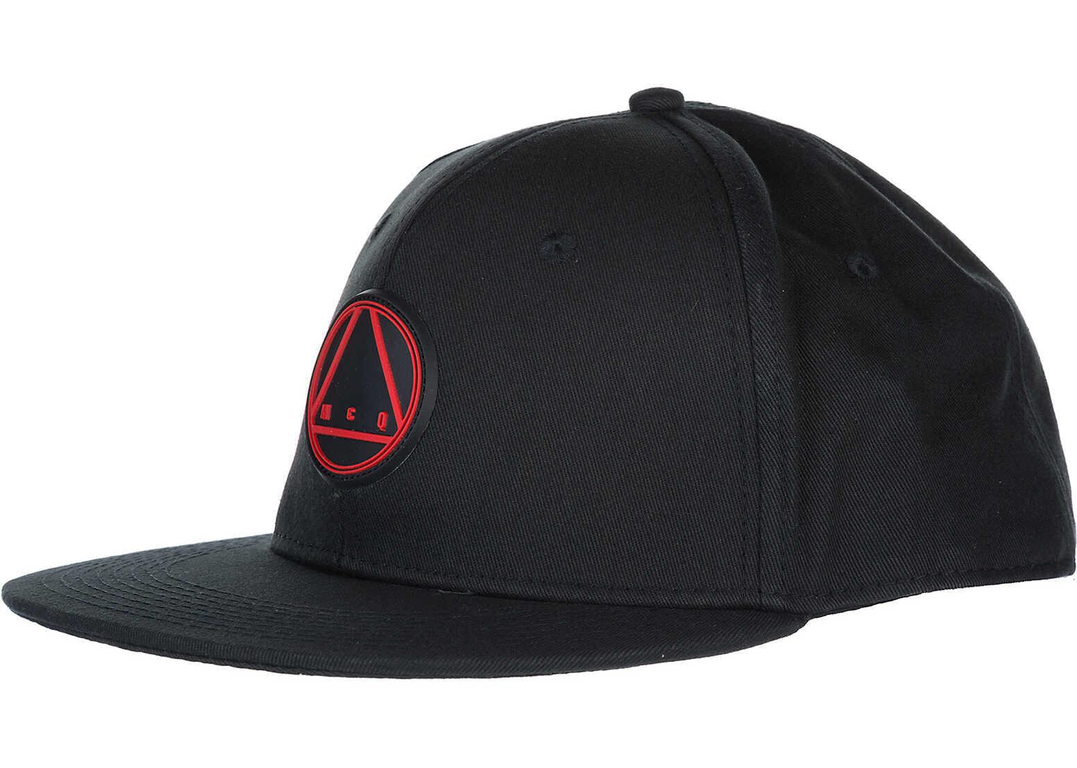 MCQ Alexander McQueen Baseball Cap Black
