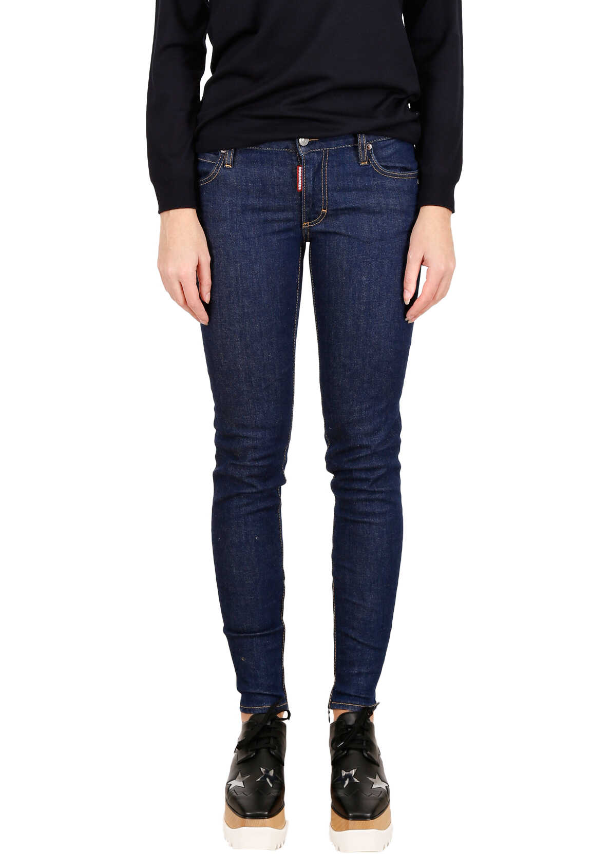 DSQUARED2 Twiggy Jeans BLUE DENIM