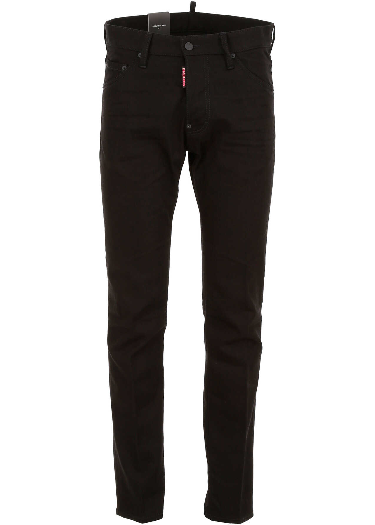 DSQUARED2 Be Cool Be Nice Jeans BLACK