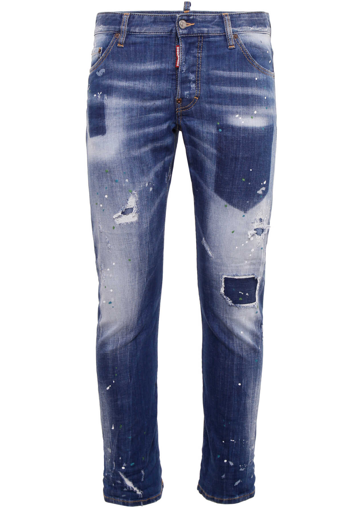 DSQUARED2 Sexy Twist Jeans BLUE DENIM