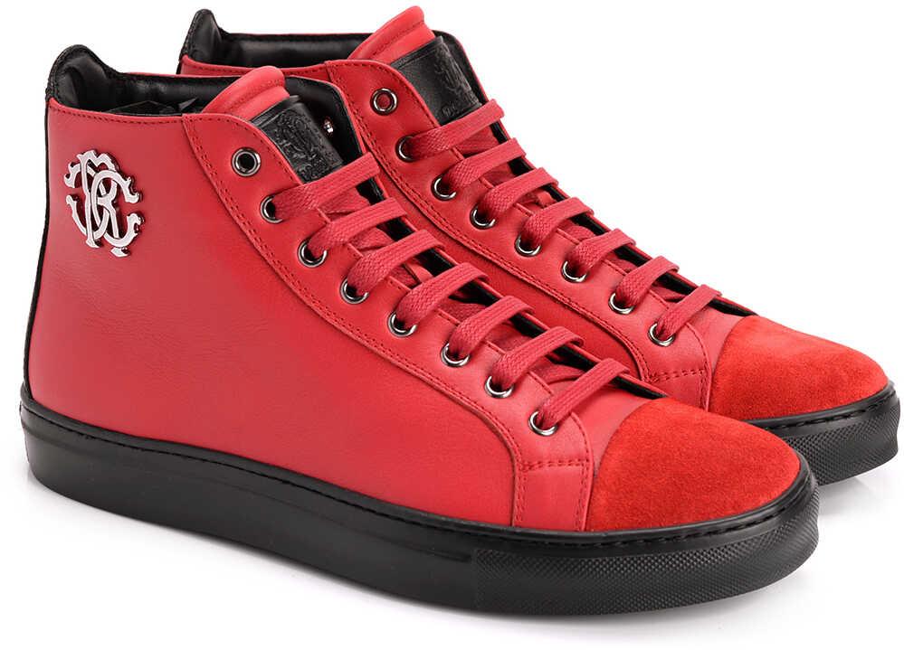 Just Cavalli Roberto Cavalli Sneakersy* Czerwony