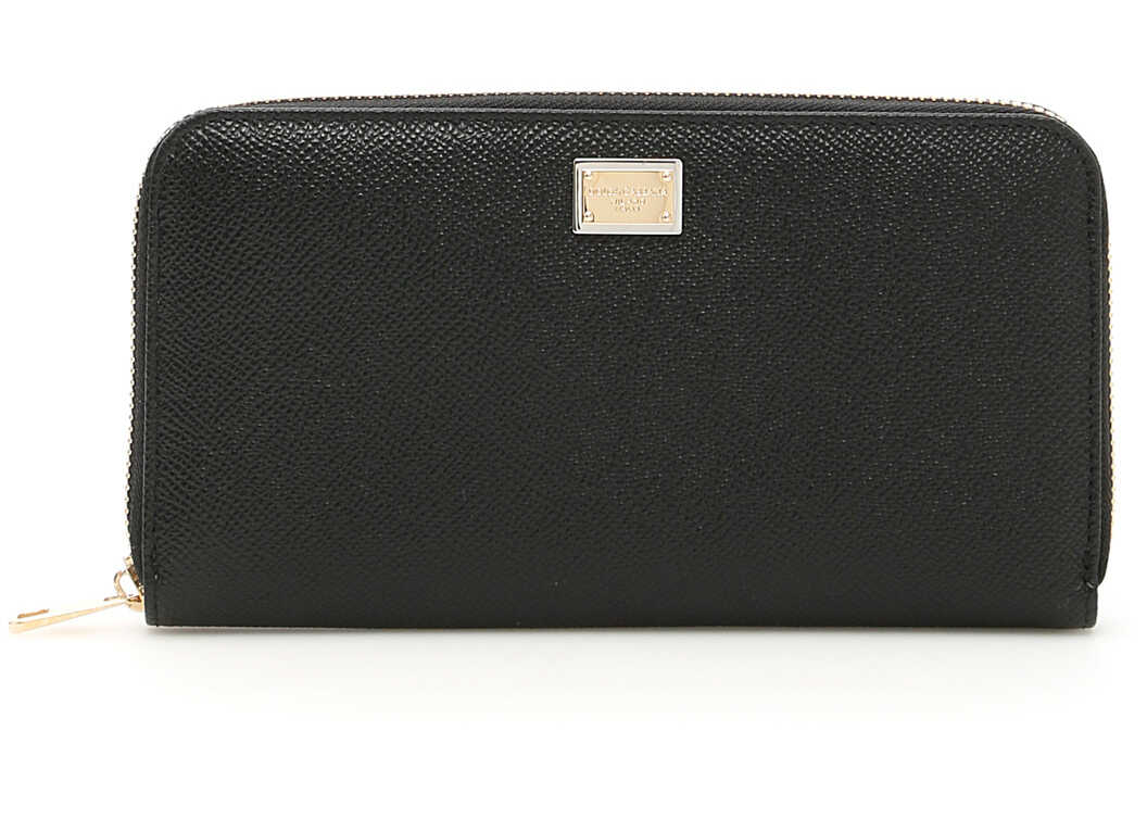 Dolce & Gabbana Zip-Around Wallet NERO