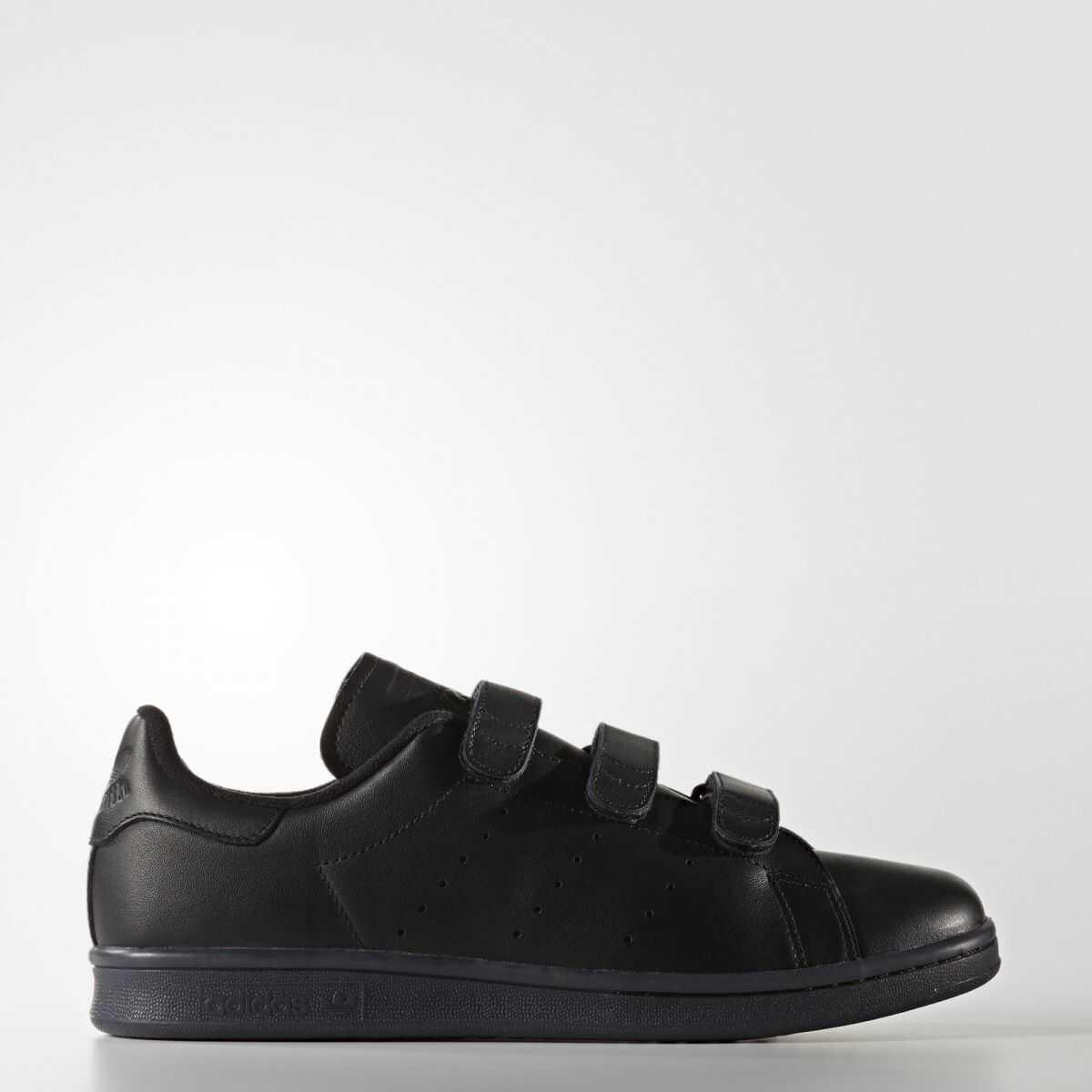 adidas STAN SMITH CF CBLACK/CBLACK/CBLACK