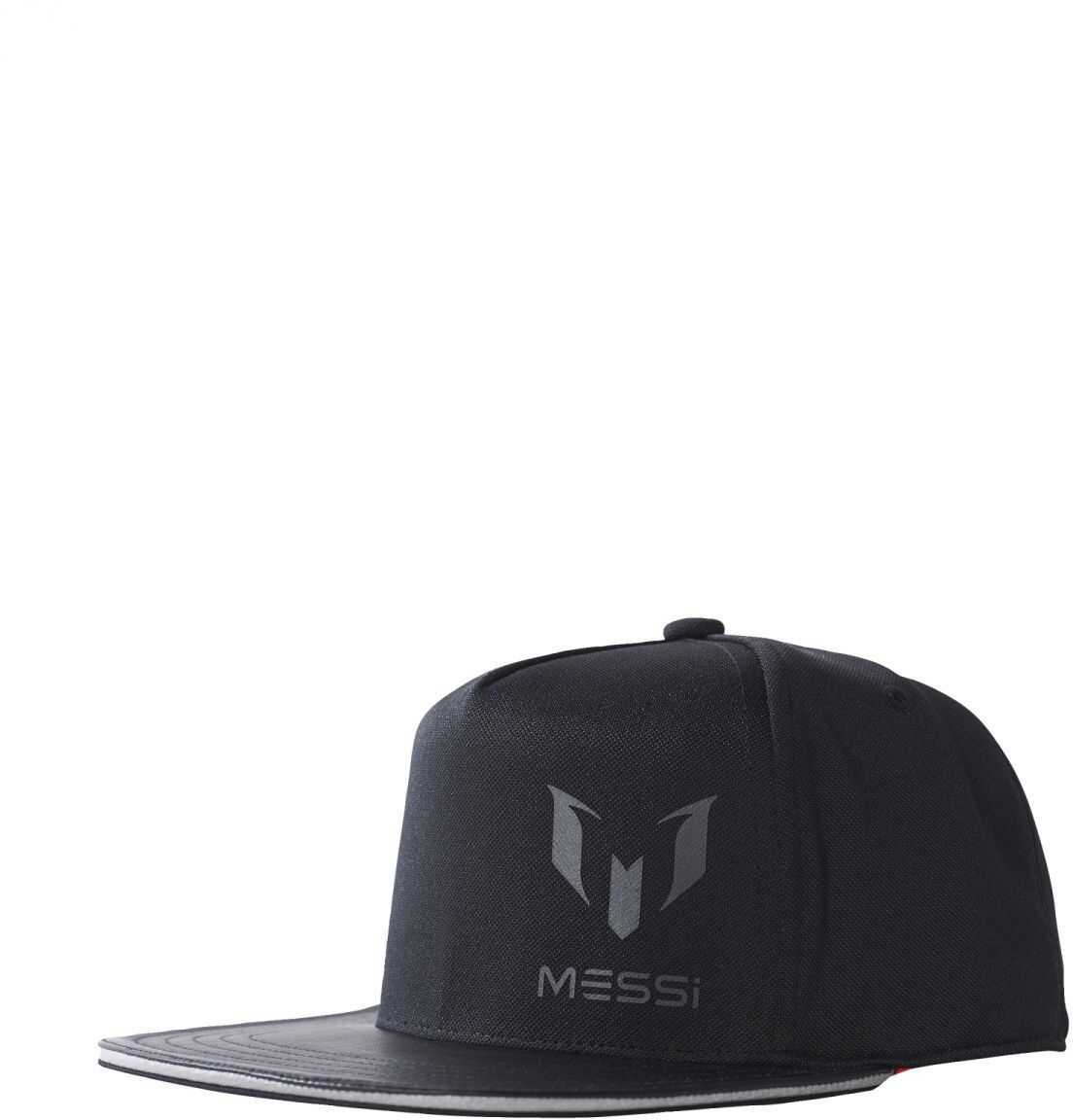 adidas MESSI KIDS CAP BLACK/SOLRED