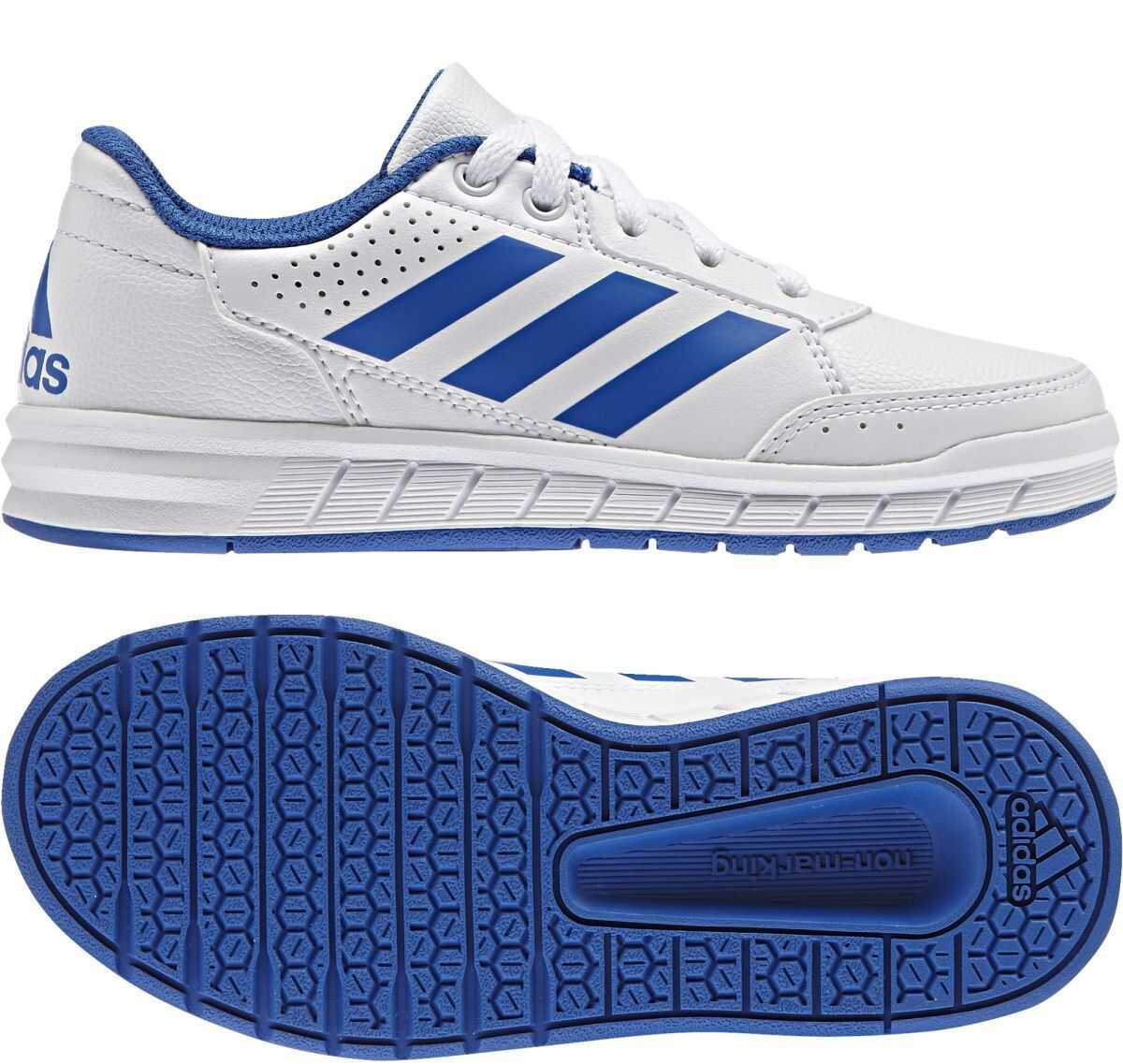 adidas AltaSport K FTWWHT/BLUE/FTWWHT