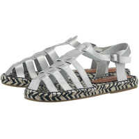 Sandale Women's Silver Ancient Greek Sandals Femei