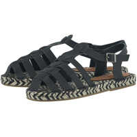 Mocasini Women's Black Ancient Greek Sandals Femei