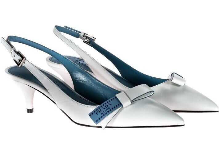Prada Ankle-Strap Sandals White