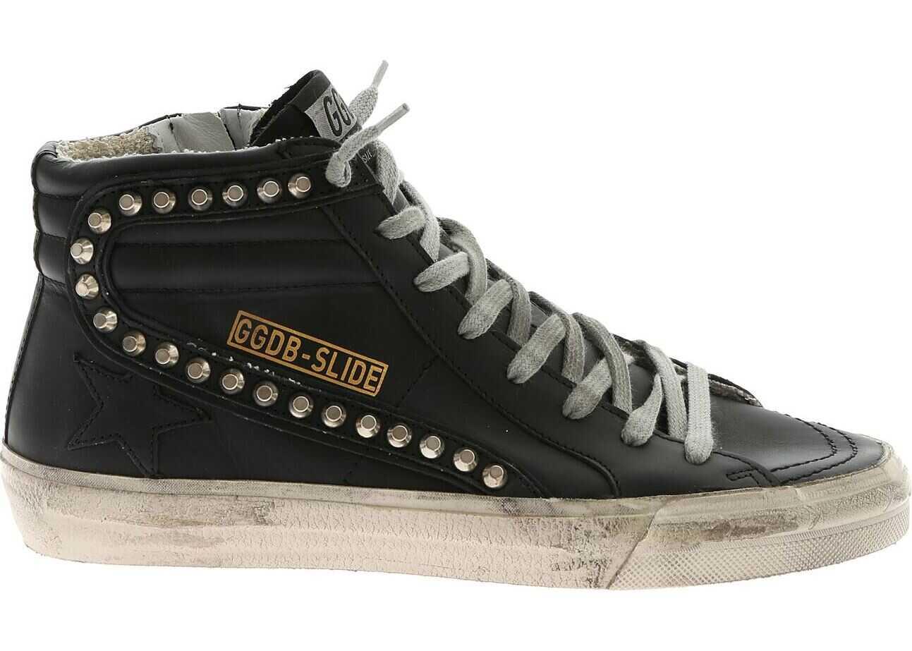 Golden Goose Black Slide Sneakers Black