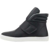 Tenisi & Adidasi Women's Casual Mid Cut Black Sneakers Femei