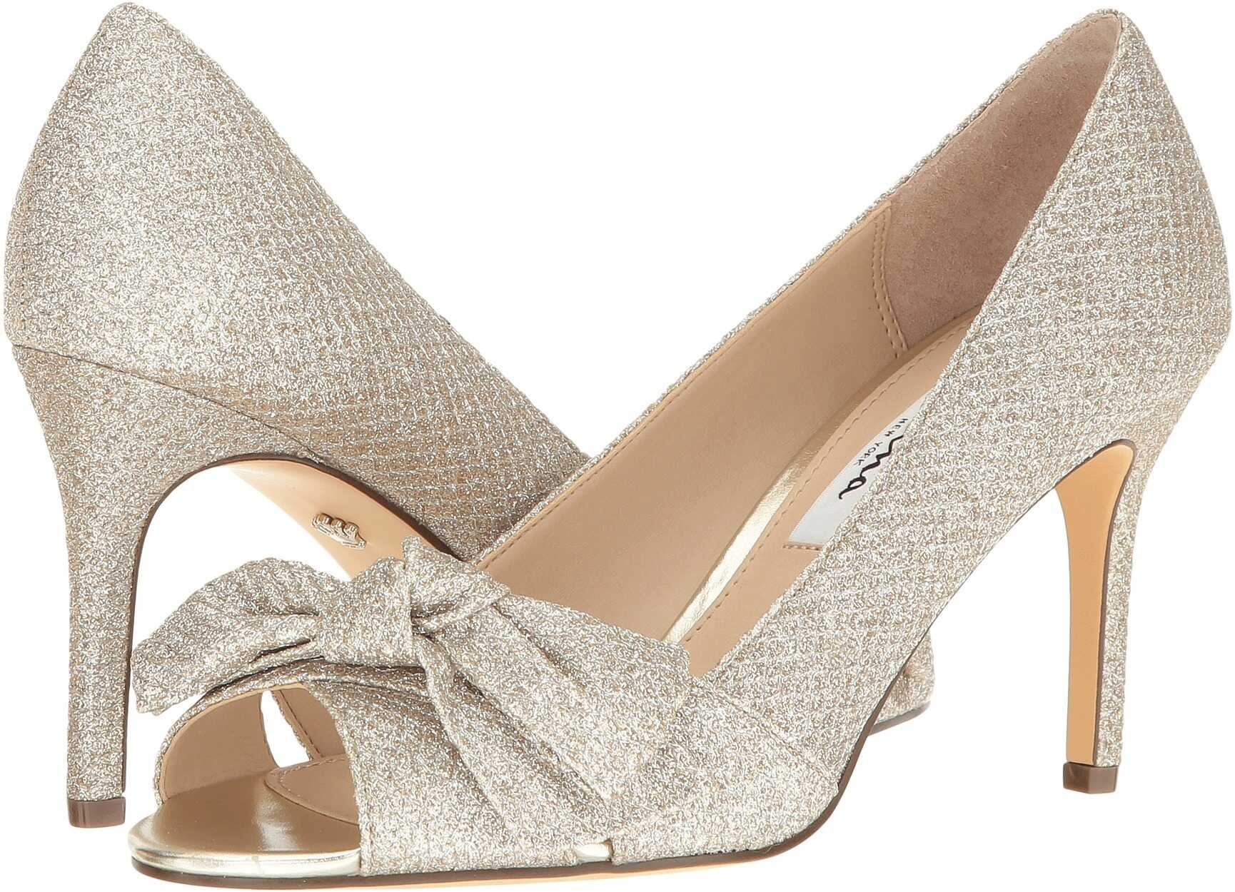 Nina Forbet Soft Platino Diamond Glitter Mesh