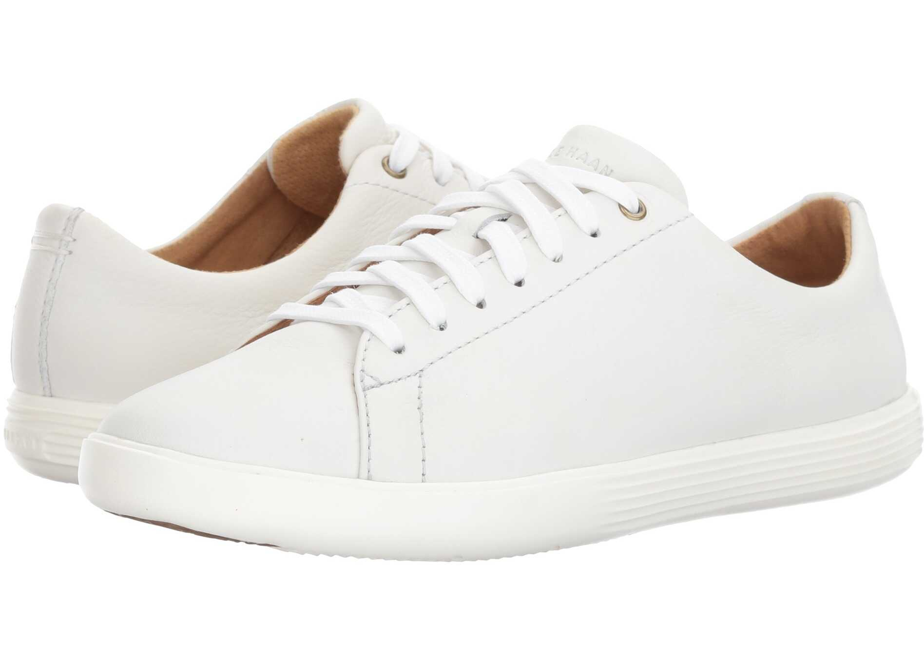 Cole Haan Grand Crosscourt II Bright White Leather/Optic White
