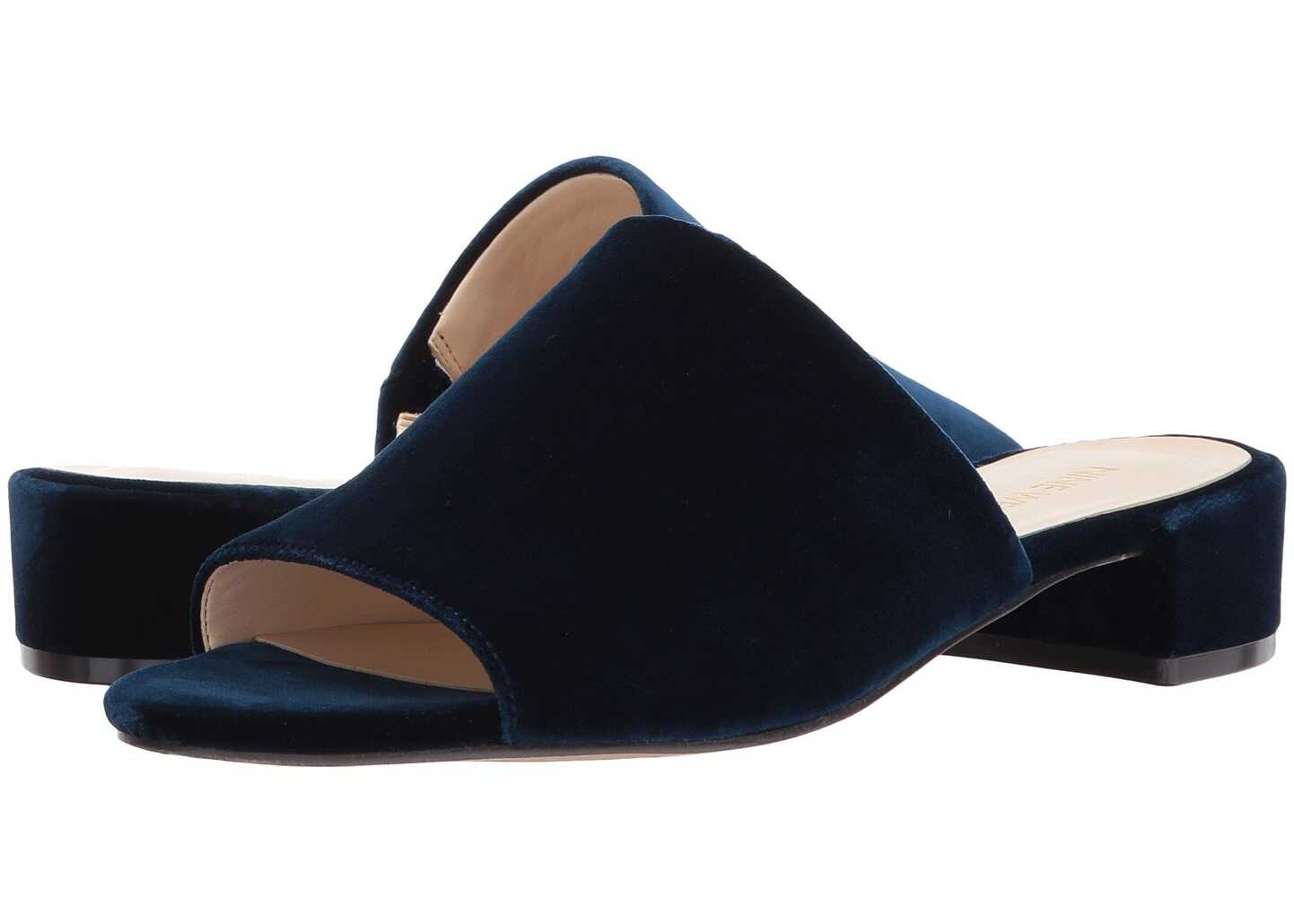 Nine West Raissa Slide Sandal Navy Fabric