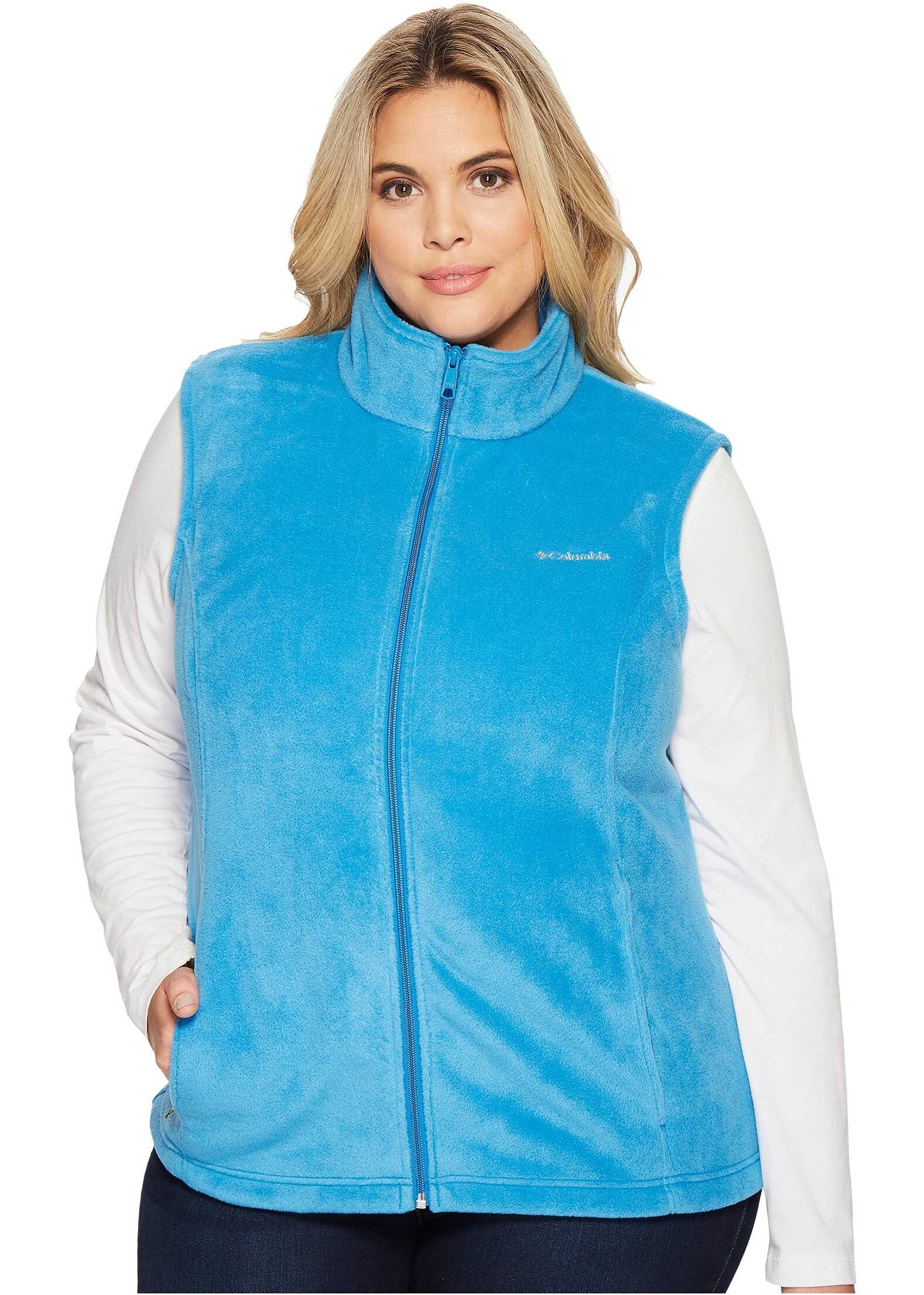 Columbia Plus Size Benton Springs Vest Dark Cyan