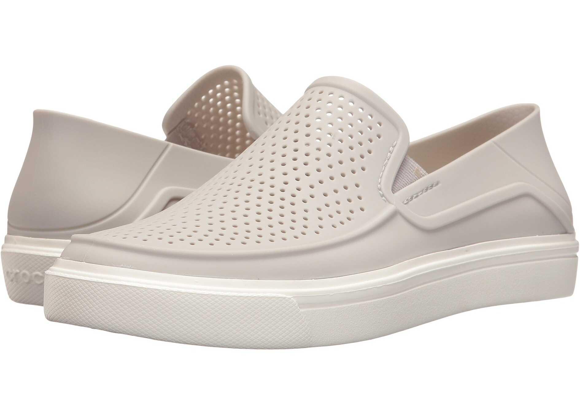 Crocs CitiLane Roka Slip-On Pearl White