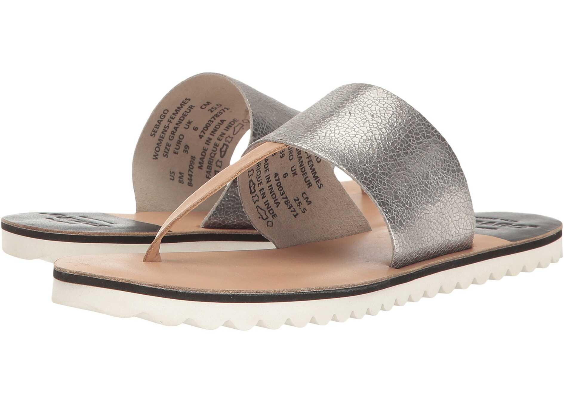 Sebago Sidney Instep Metallic/Tan Leather