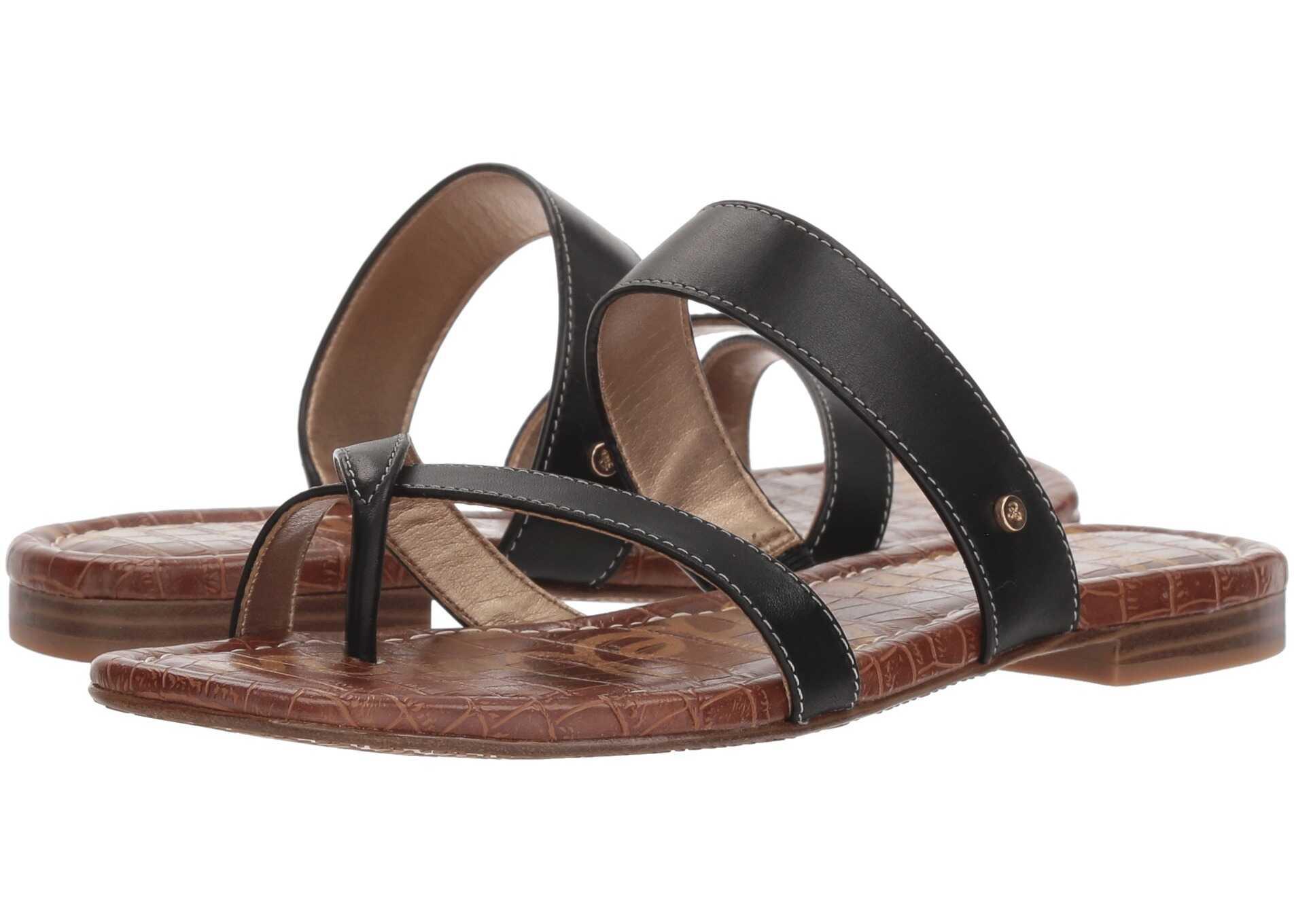 Sam Edelman Bernice Black Vaquero Saddle Leather