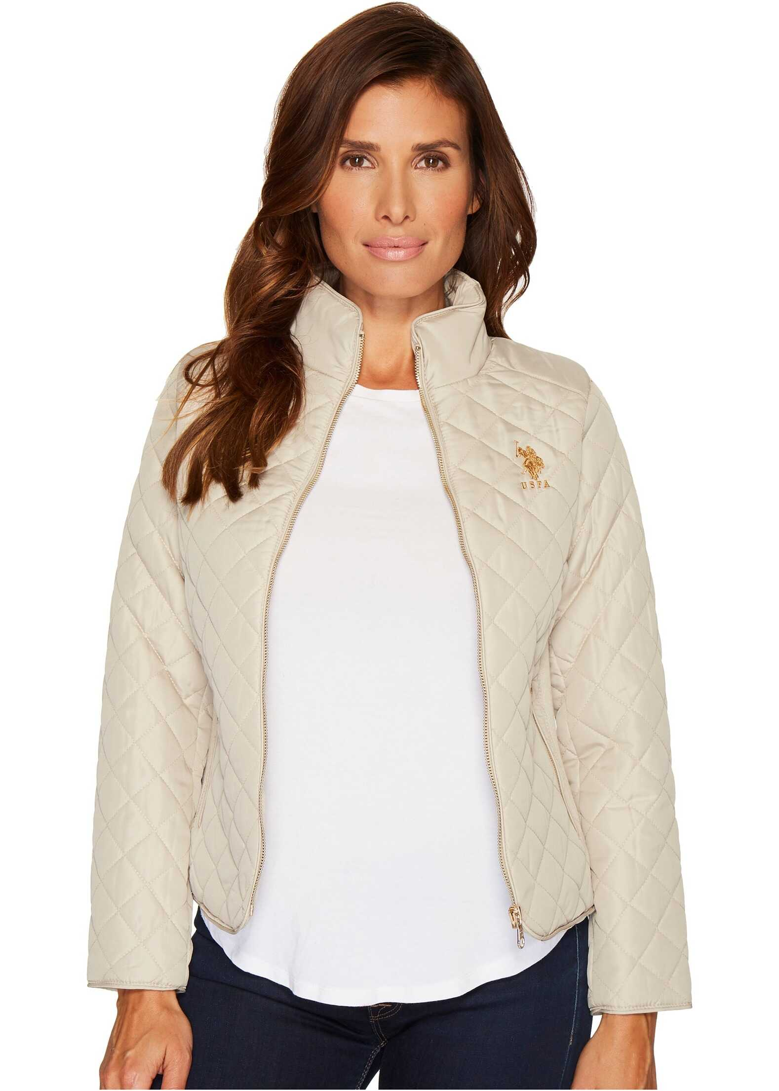 U.S. POLO ASSN. Quilted Jacket Fog
