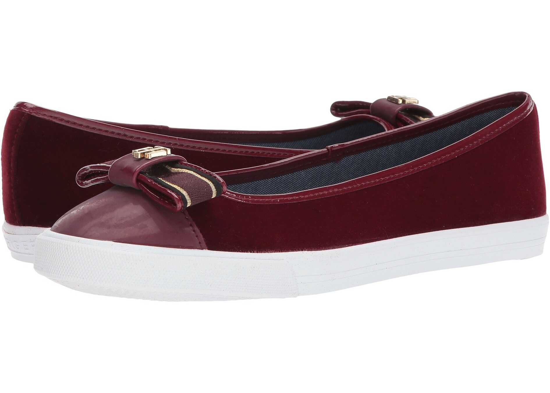 Tommy Hilfiger Bello 2 Dark Red Fabric