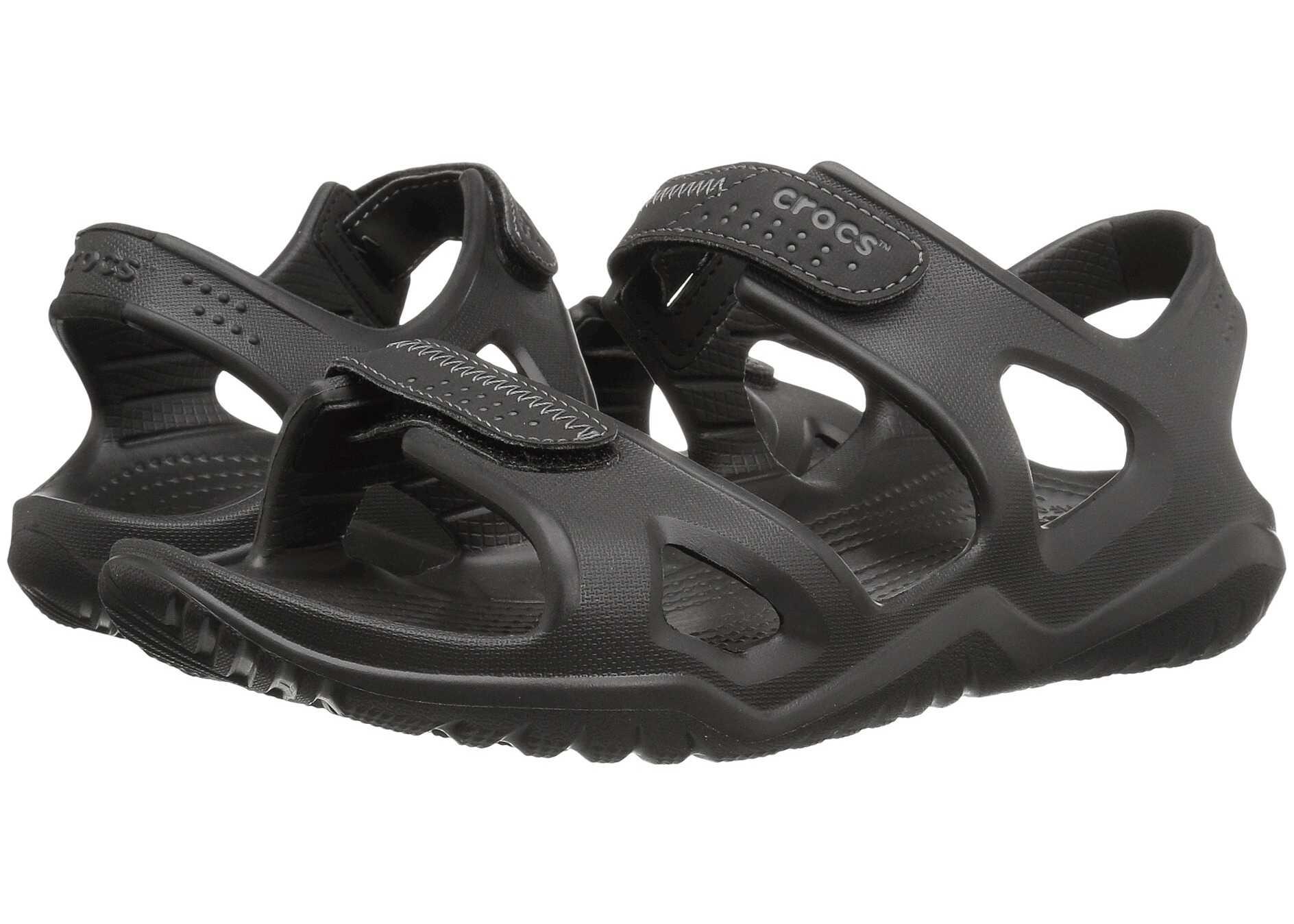 Crocs Swiftwater River Sandal Black/Black