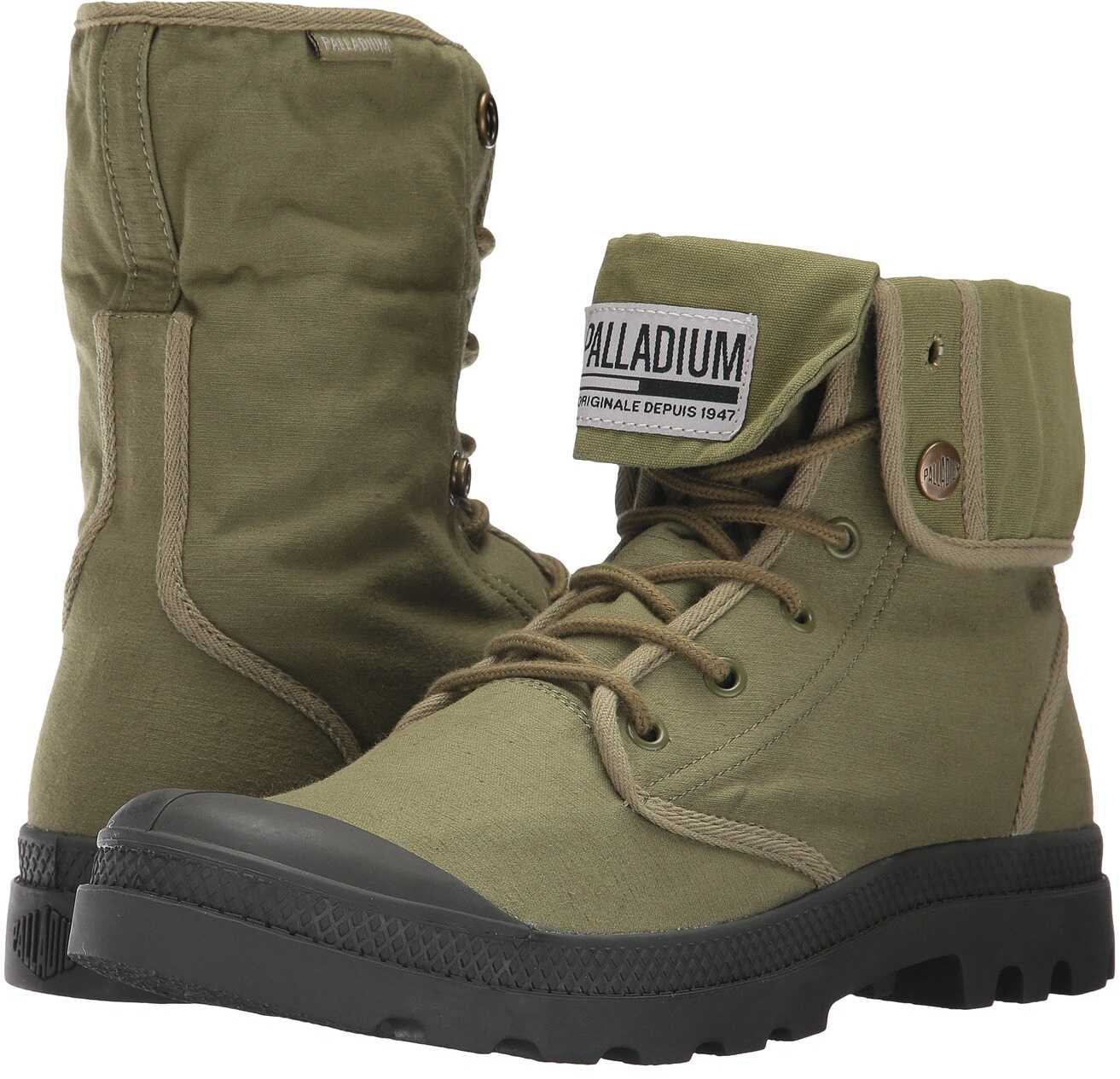 Palladium Baggy Army TRNG Camp Olive Drab/Beluga
