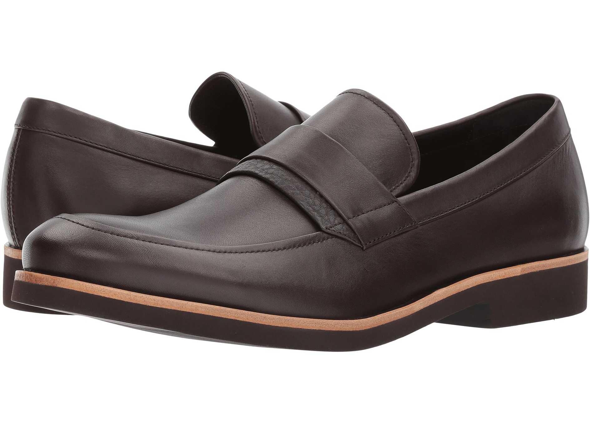 Calvin Klein Forbes Dark Brown Dress Calf