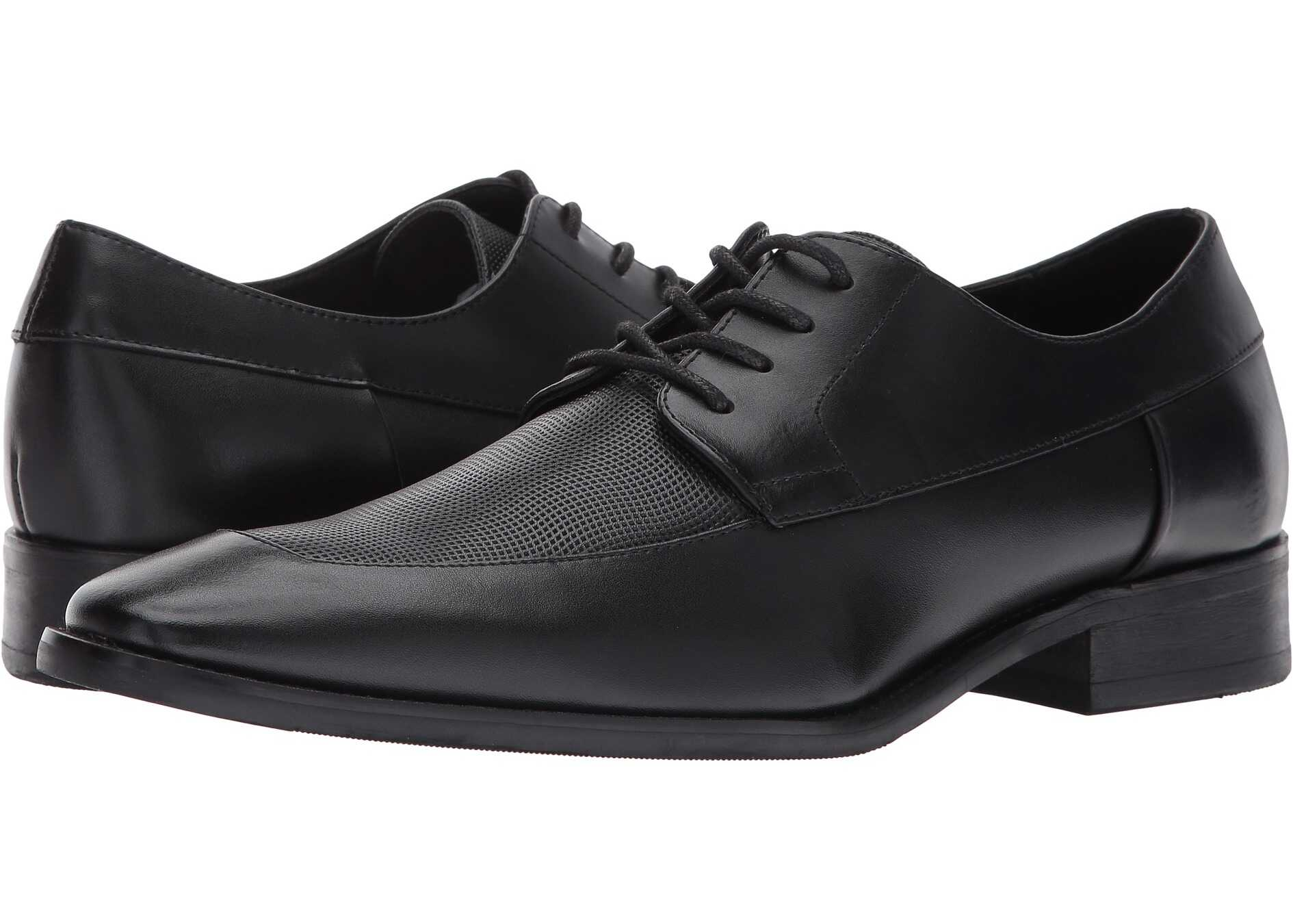 Calvin Klein Rambert Black Brushed Leather
