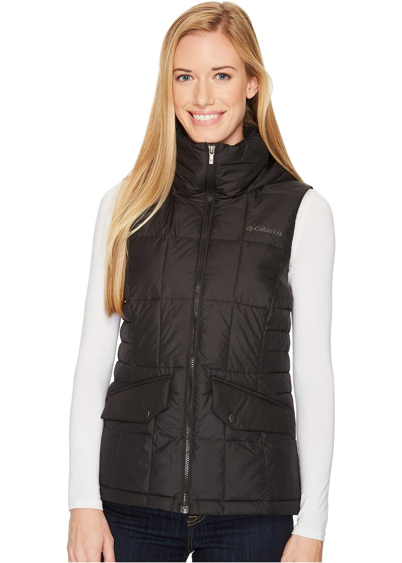 Columbia Lone Creek Hooded Vest Black