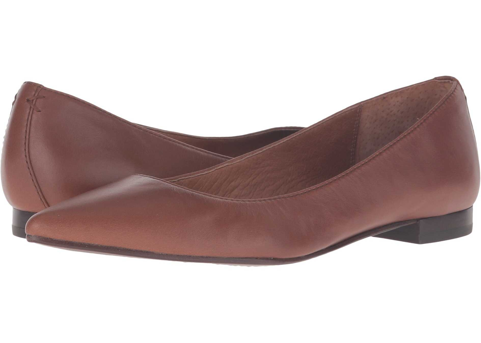 Frye Sienna Ballet Wood Soft Full Grain