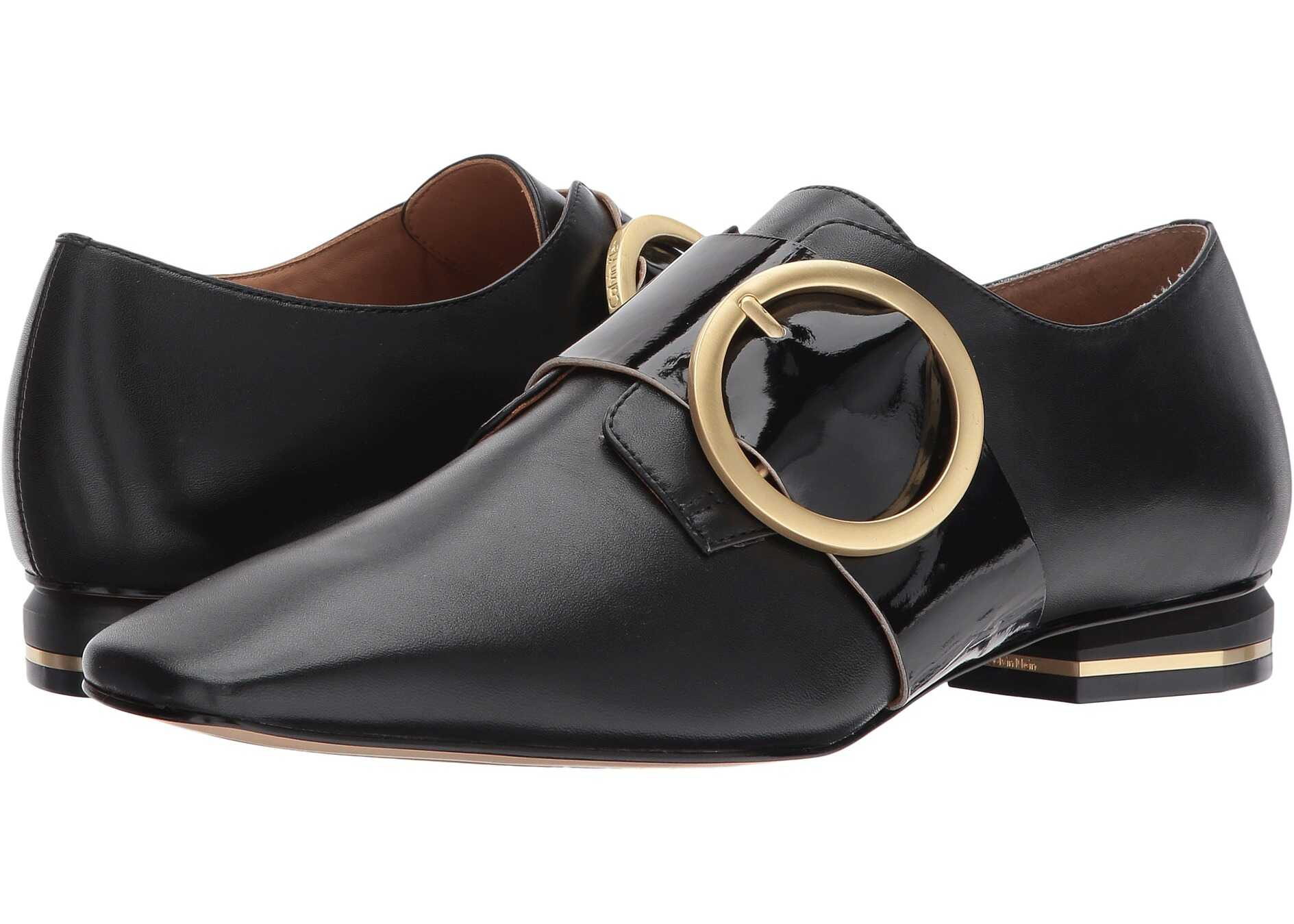 Calvin Klein Bessy Black Smooth Calf/Soft Patent