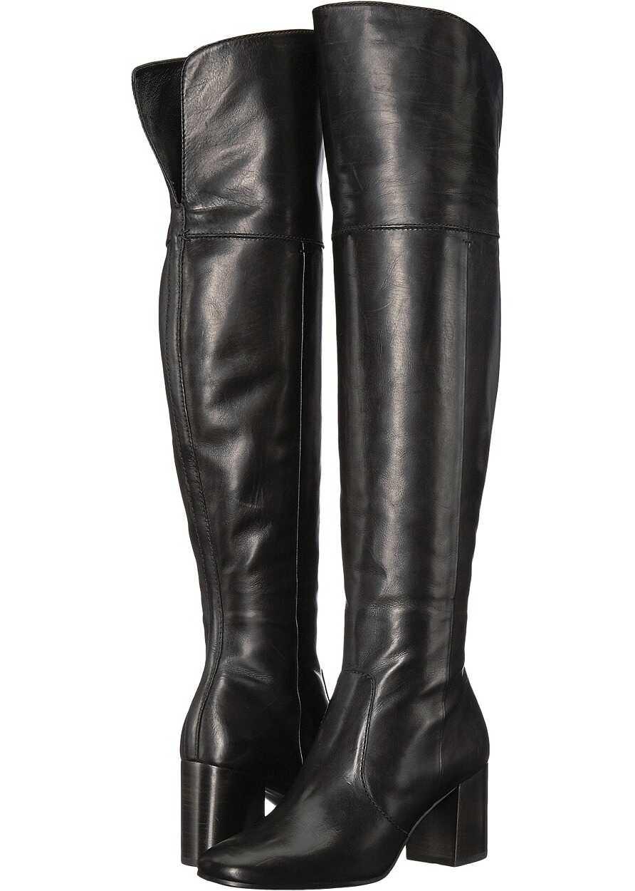 Frye Jodi Over-The-Knee Black Soft Calf Leather