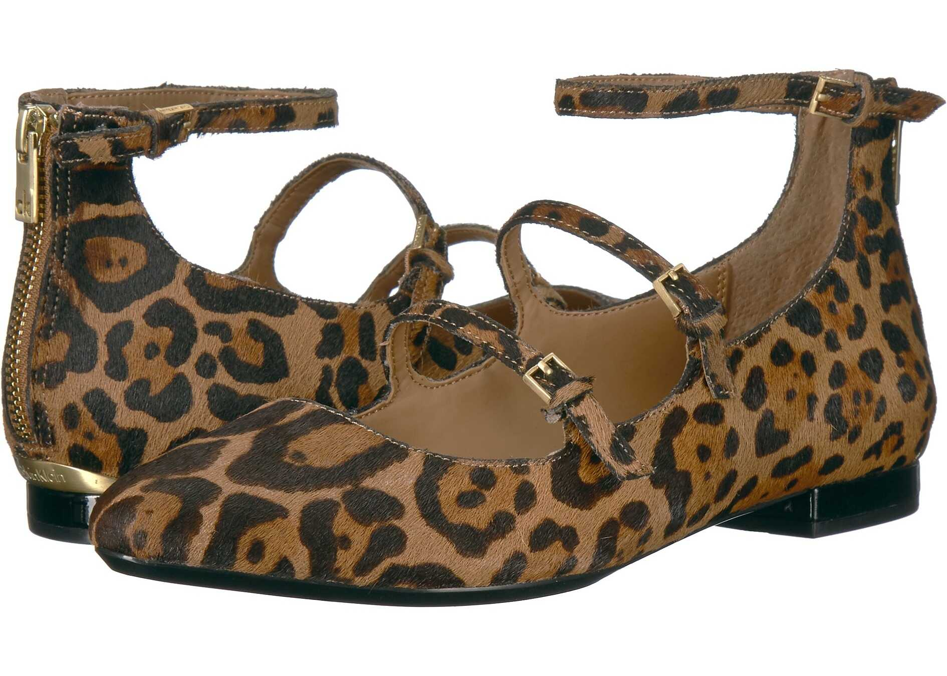 Calvin Klein Gavinia Natural/Black Winter Leopard Haircalf