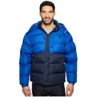 Geci de iarna Color Block Bubble Jacket Barbati