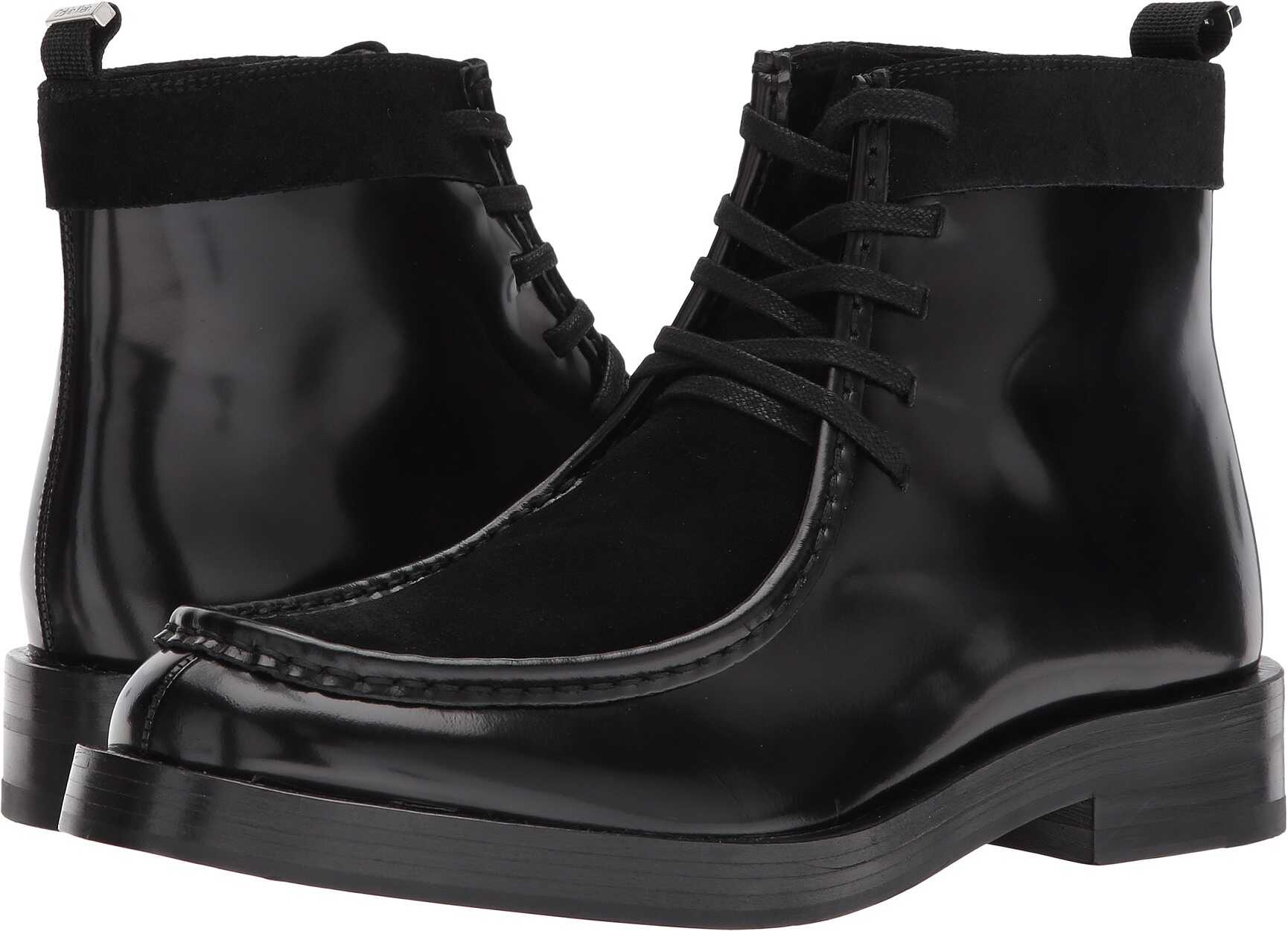 Calvin Klein Rafi Black Box Leather/Calf Suede