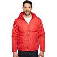 Geci de iarna Diamond Quilted Hooded Jacket Barbati