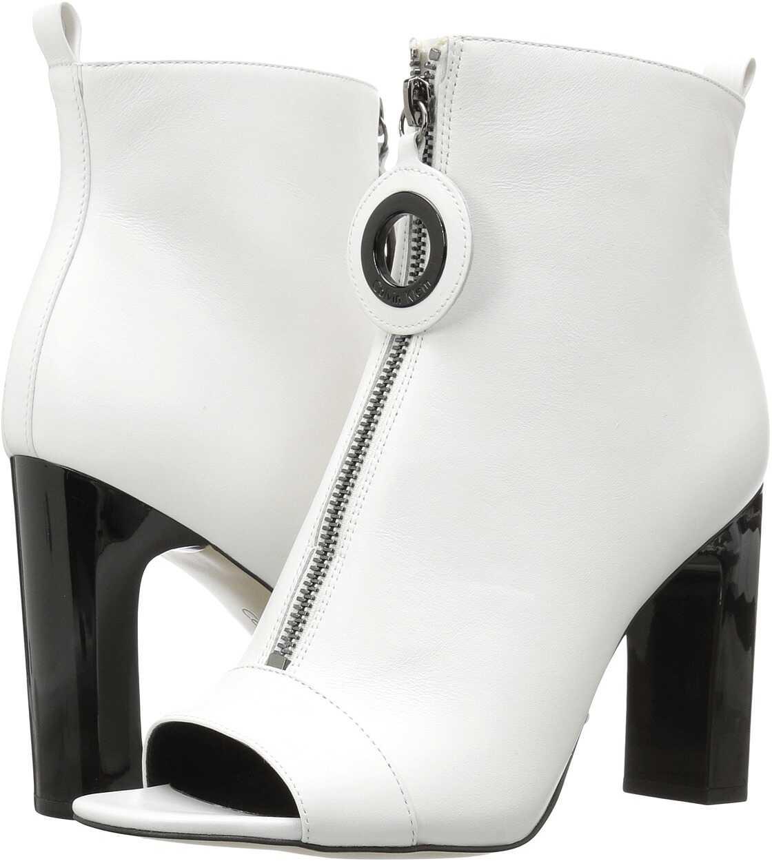 Calvin Klein Minda Platinum White Cow Silk