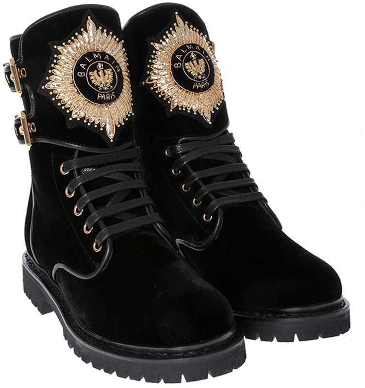 Balmain Suede Boots* Black