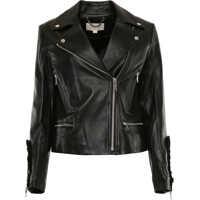 Geci de Piele Leather Biker Jacket Femei