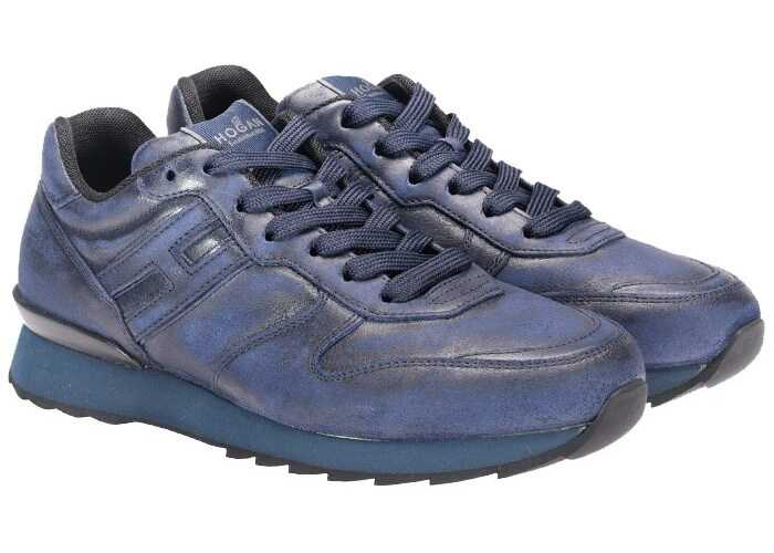 Hogan Leather Sneakers* Blue