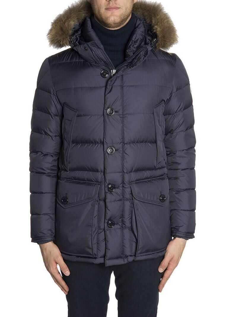 Moncler Cluny Down Jacket* Blue