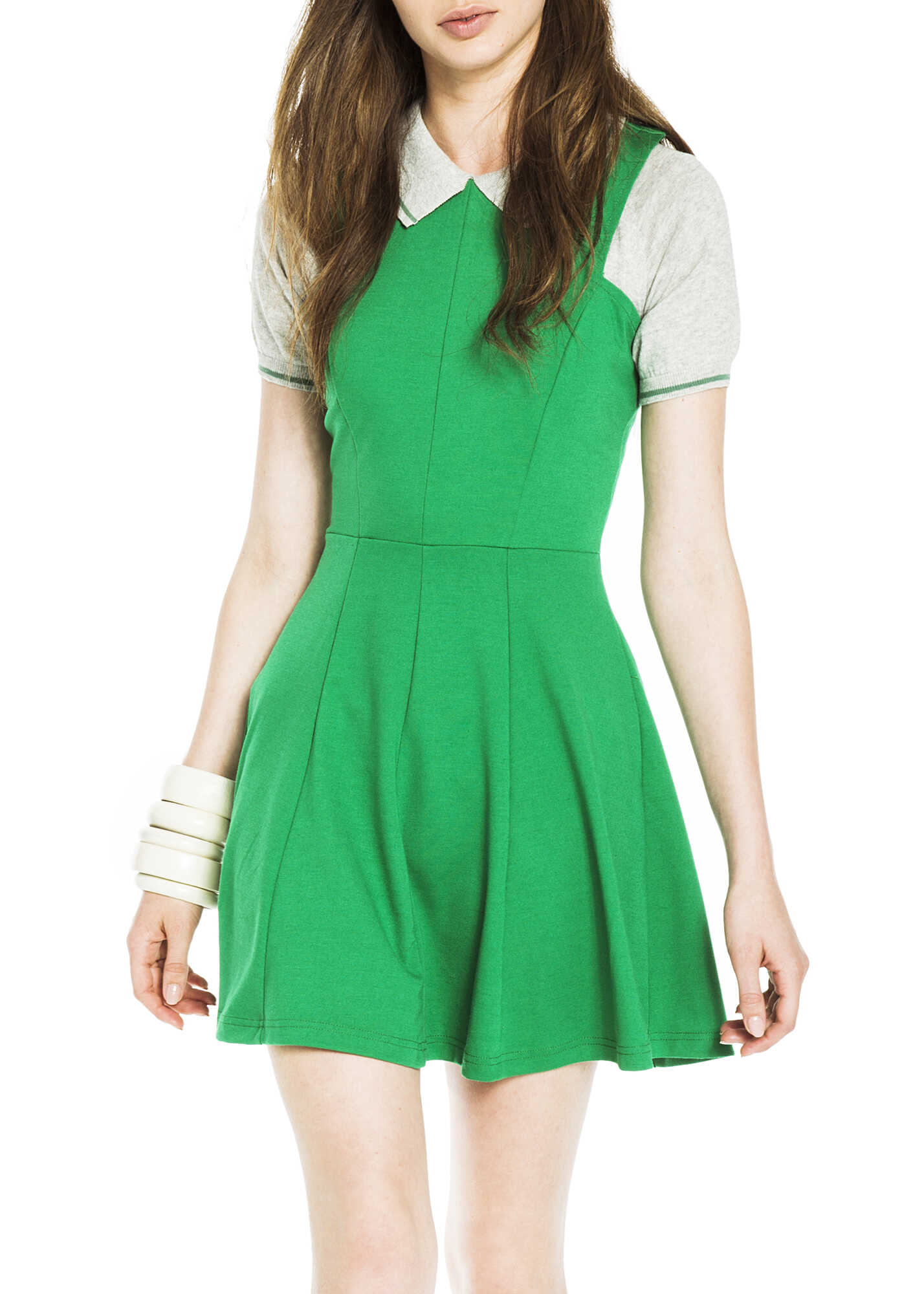 Kling Lindsay Green Sleeveless Dress* GREEN