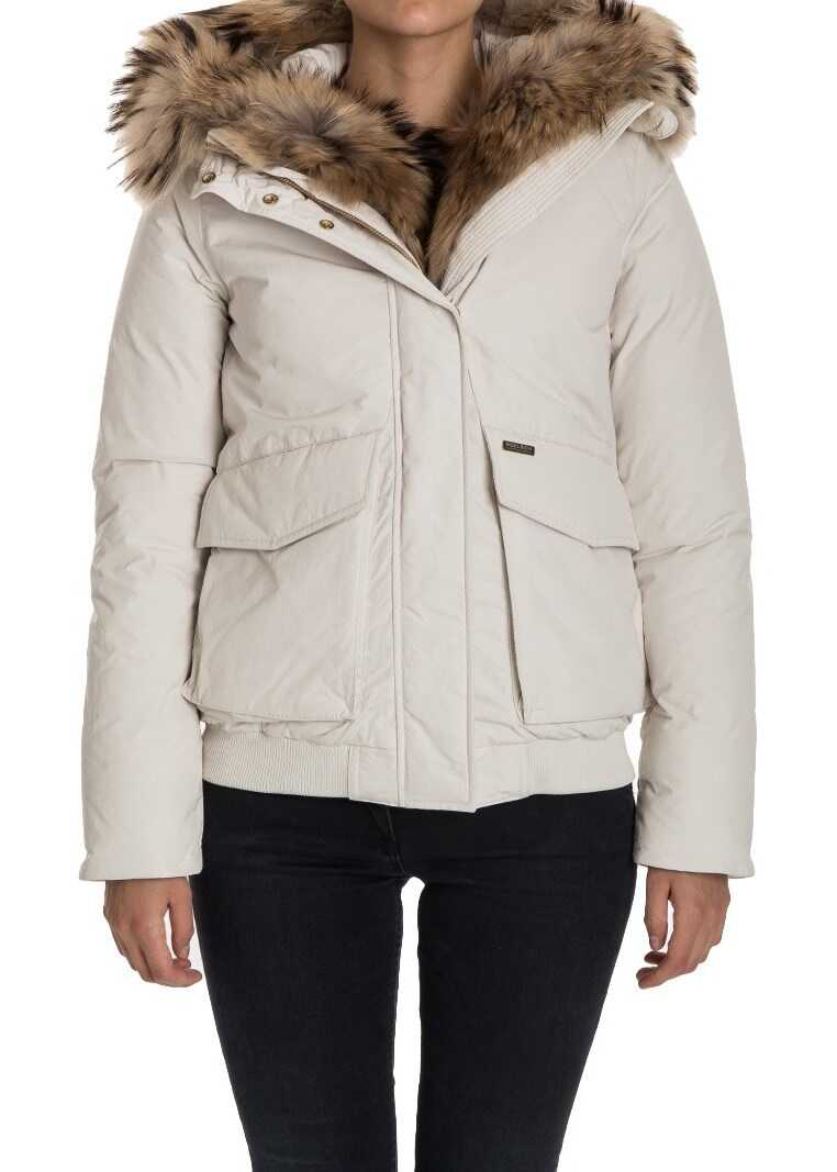 Woolrich Military Bomber Down Jacket* White