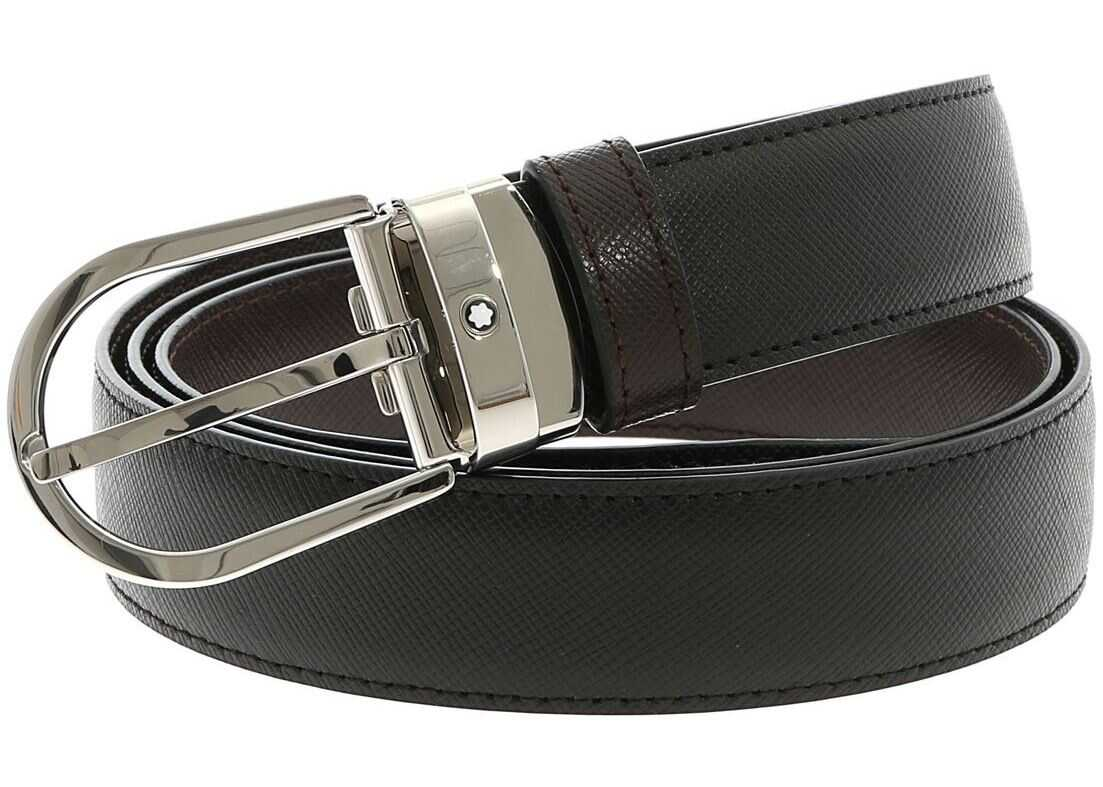 Montblanc Reversible Belt Black