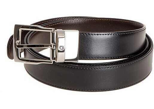 Montblanc Leather Belt Black