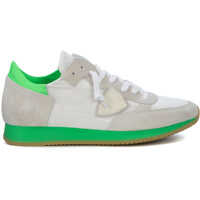 Tenisi & Adidasi Philippe Model Tropez White And Green Fluo Sneaker
